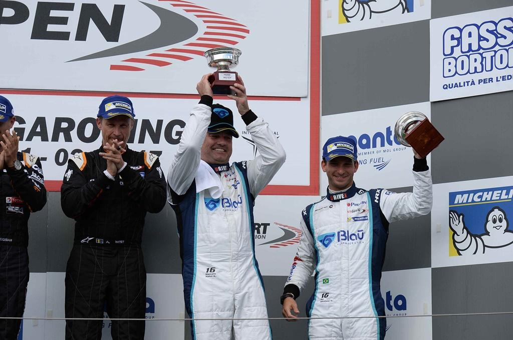 Photo of Hahn e Hellmeister conquistam mais um pódio no International GT Open