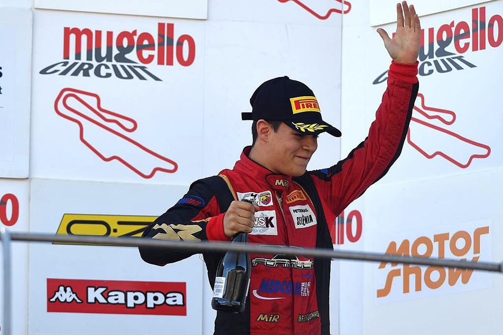 Photo of F4 Italiana teve novamente Felipe Branquinho no pódio