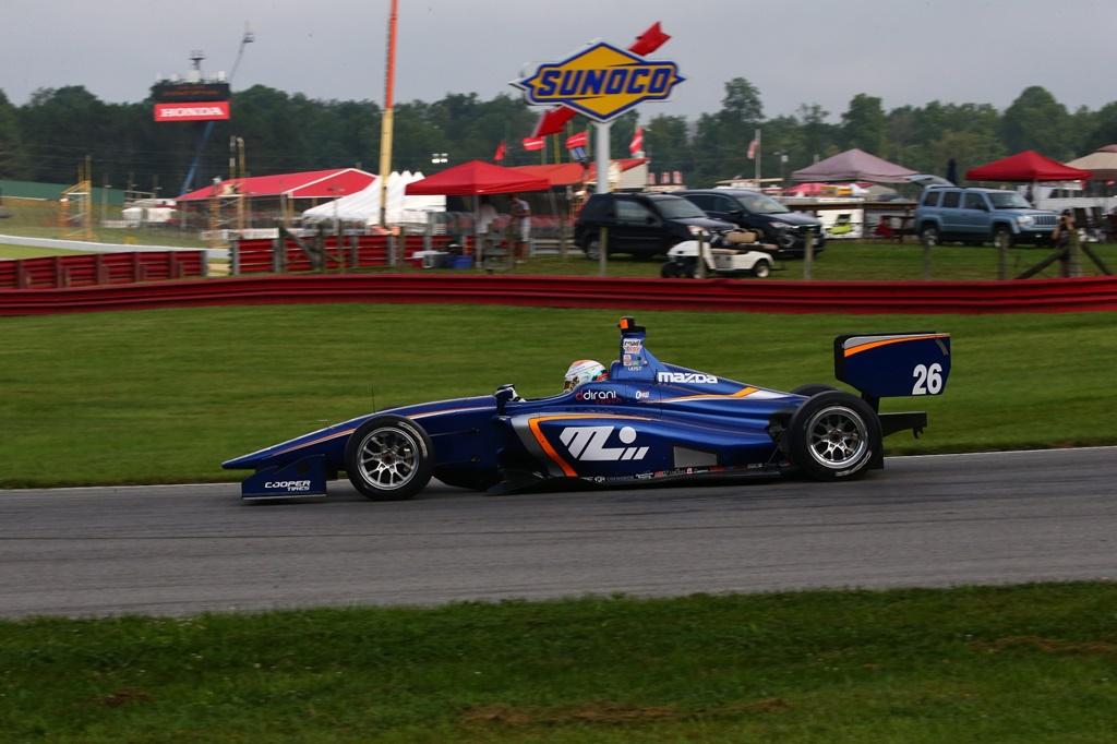Photo of Matheus Leist é destaque em testes da Indy Lights no oval de Gateway