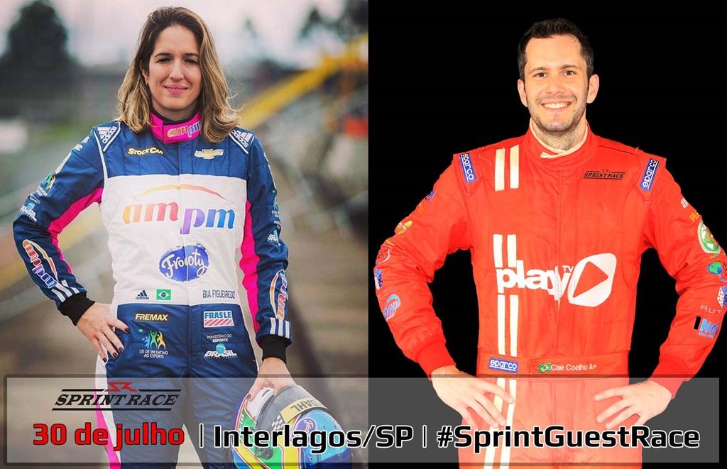 Photo of Sprint Race: Bia Figueiredo confirmada com Caê Coelho na Corrida de Convidados