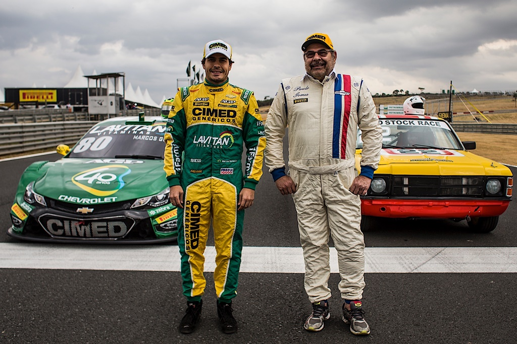 Photo of Stock Car estreia no Velo Citta com pai e filhos juntos na pista: Paulo Gomes e Marcos Gomes