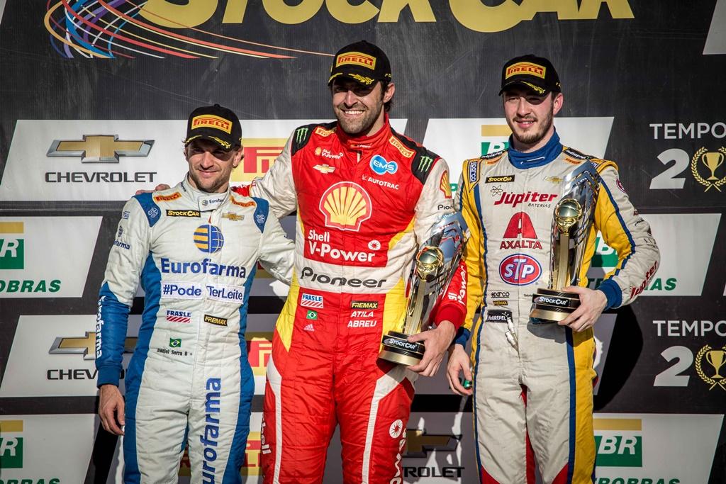 Photo of Para o alto e avante! Com mais um pódio, Casagrande sobe para décimo na classificação da Stock Car