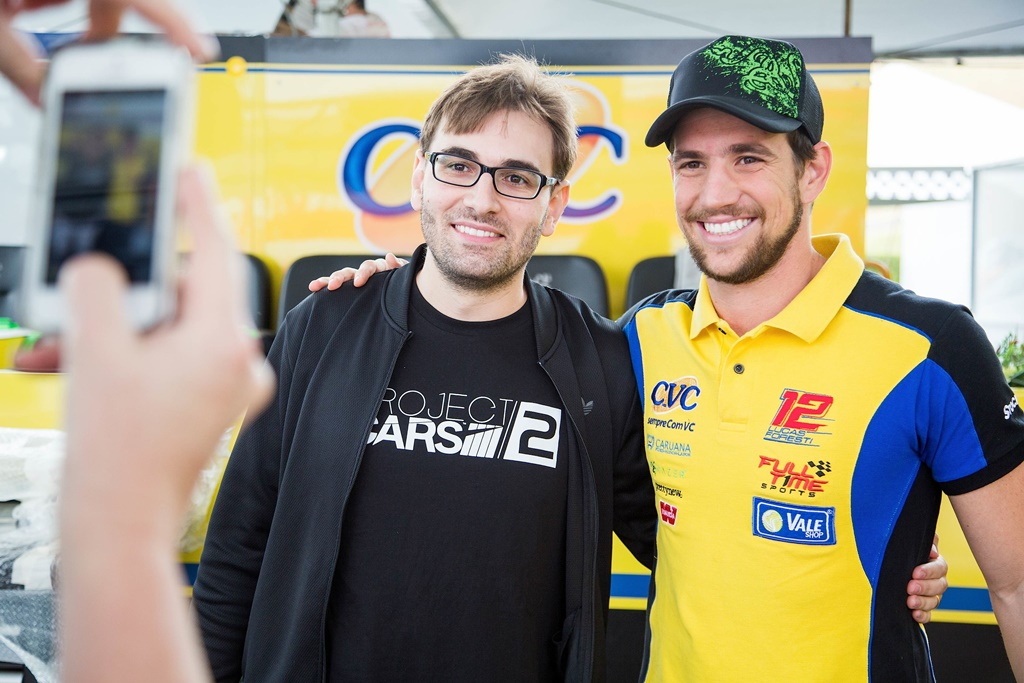 Photo of Lucas Foresti volta ao tempo com ajuda do youtuber BRKsEdu e do novo Project Cars
