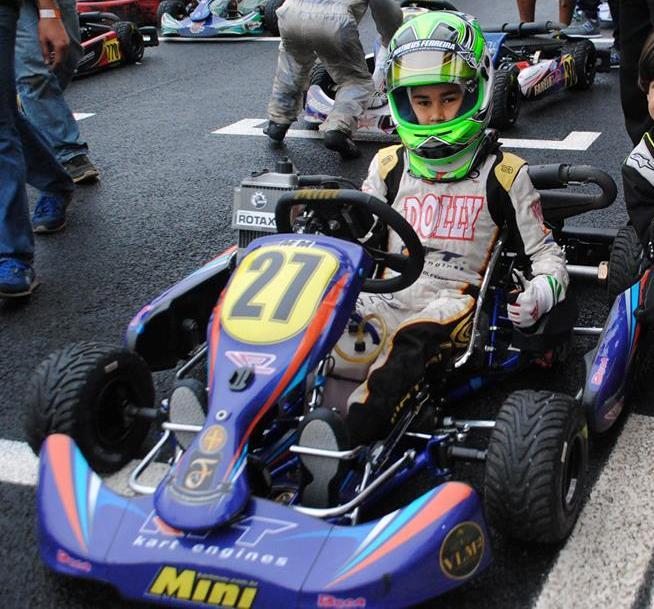 Photo of Matheus Ferreira é destaque na Copa SP de Kart com vice na Mini Max e pole e vitória na Cadete