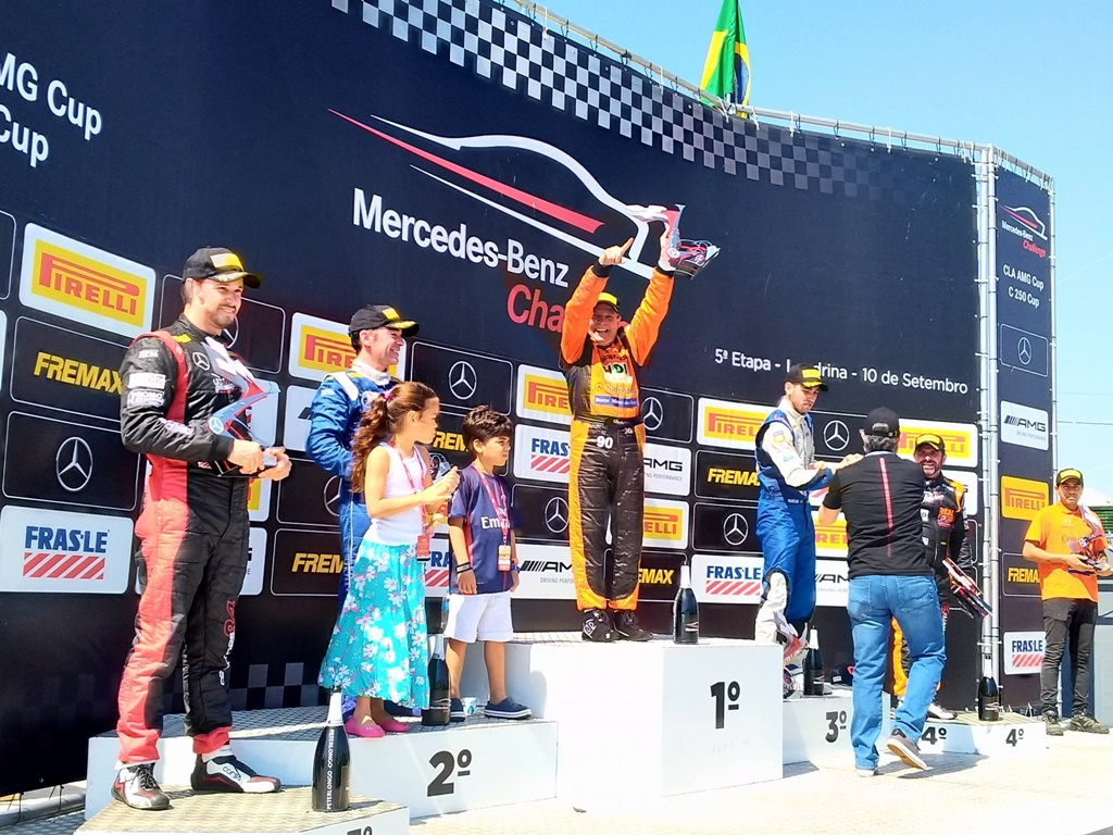 Photo of Mercedes-Benz Challenge: Rsports Racing conquista dois pódios em Londrina