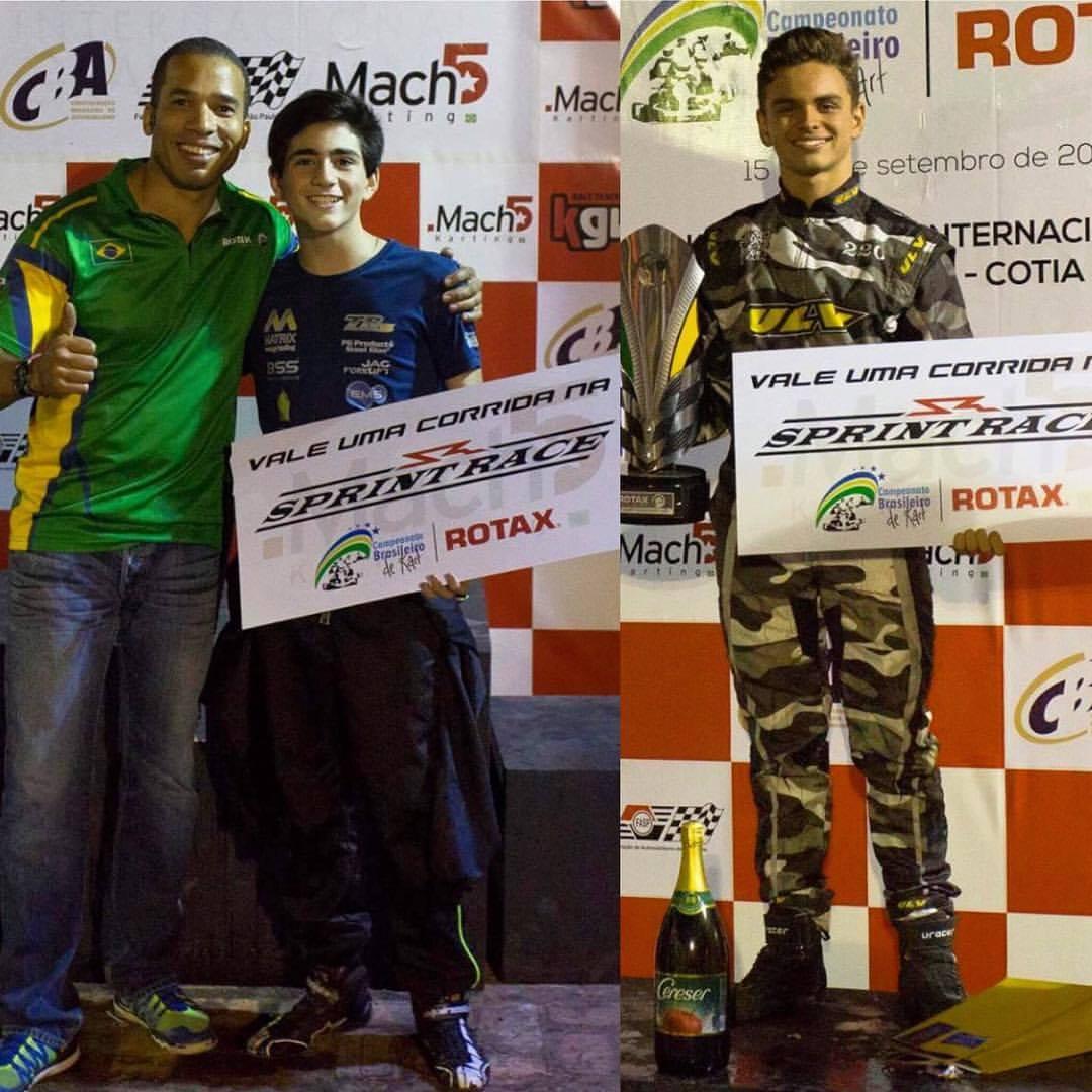 Photo of Sprint Race – Ruan Belizário e Guilherme Peixoto recebem prêmio para competir na Sprint Race