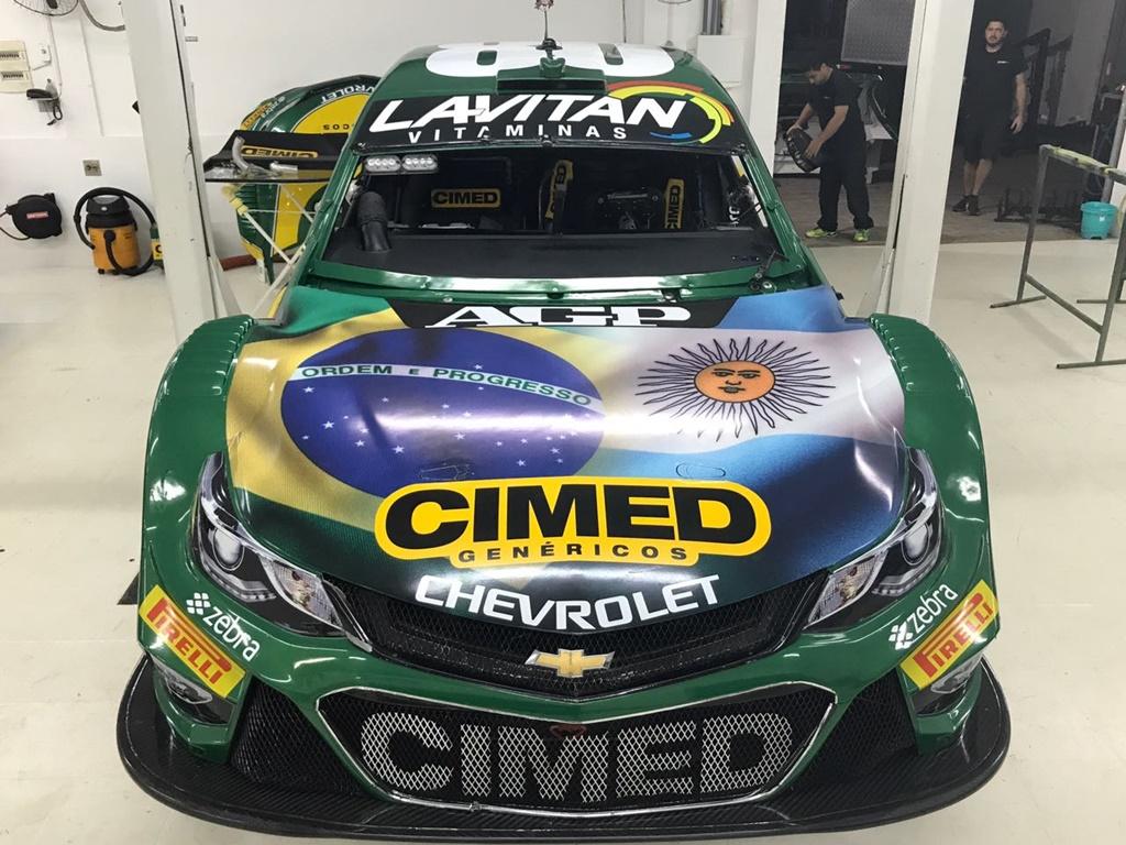 Photo of Stock Car – Homenagem especial nos carros da Cimed Racing em Buenos Aires: Brasil e Argentina juntos na pista