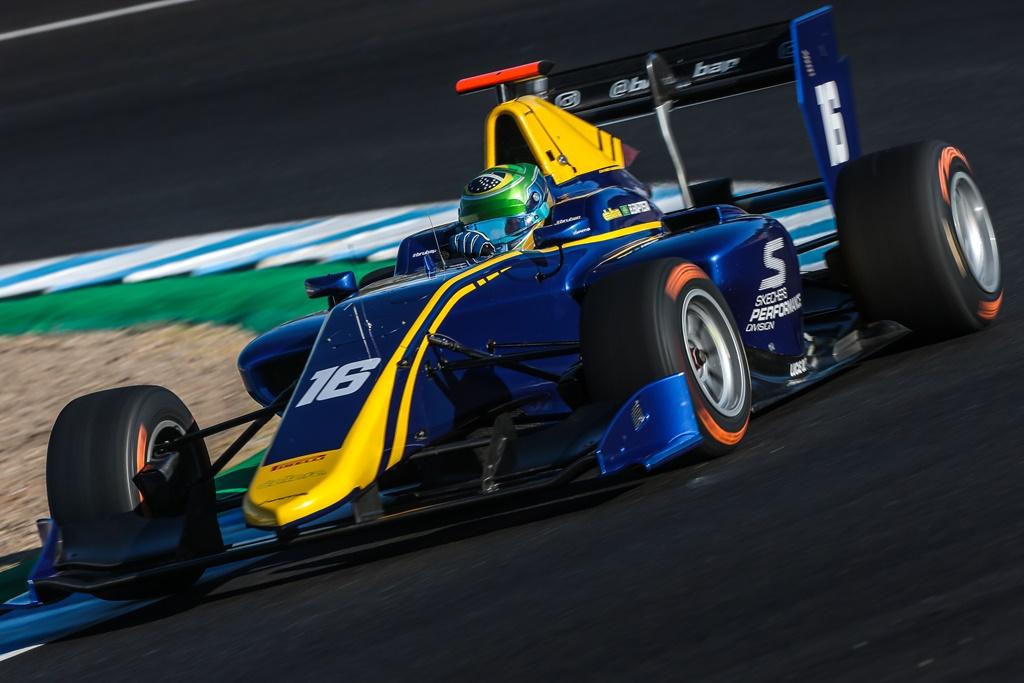 Photo of GP3 Series – Bruno Baptista avança na corrida 2 e passa perto dos pontos