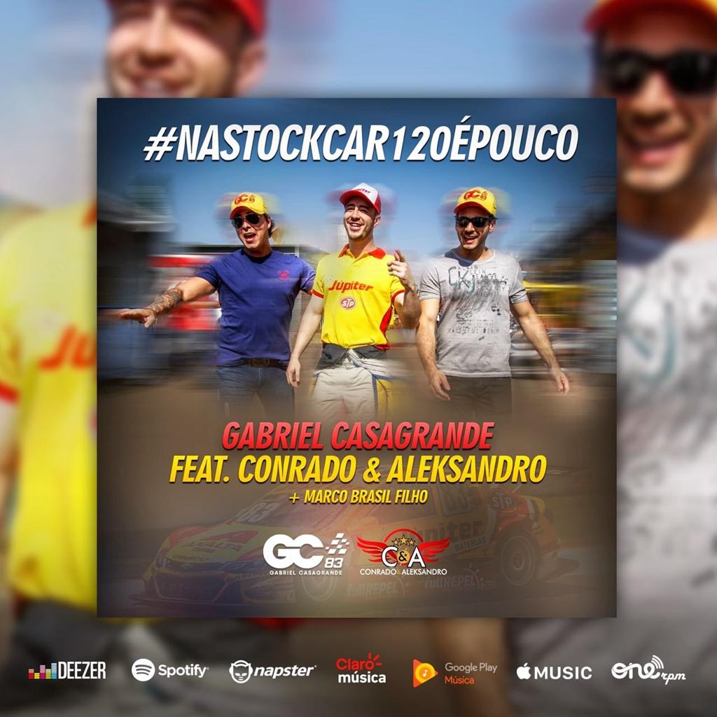 Photo of StockCar – Parceria entre Gabriel Casagrande e dupla sertaneja rende música para Hero Push