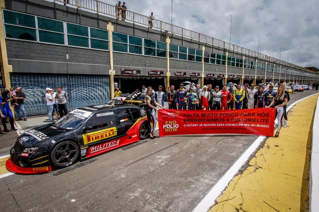 Photo of Sprint Race – Pilotos participam da campanha End Pólio