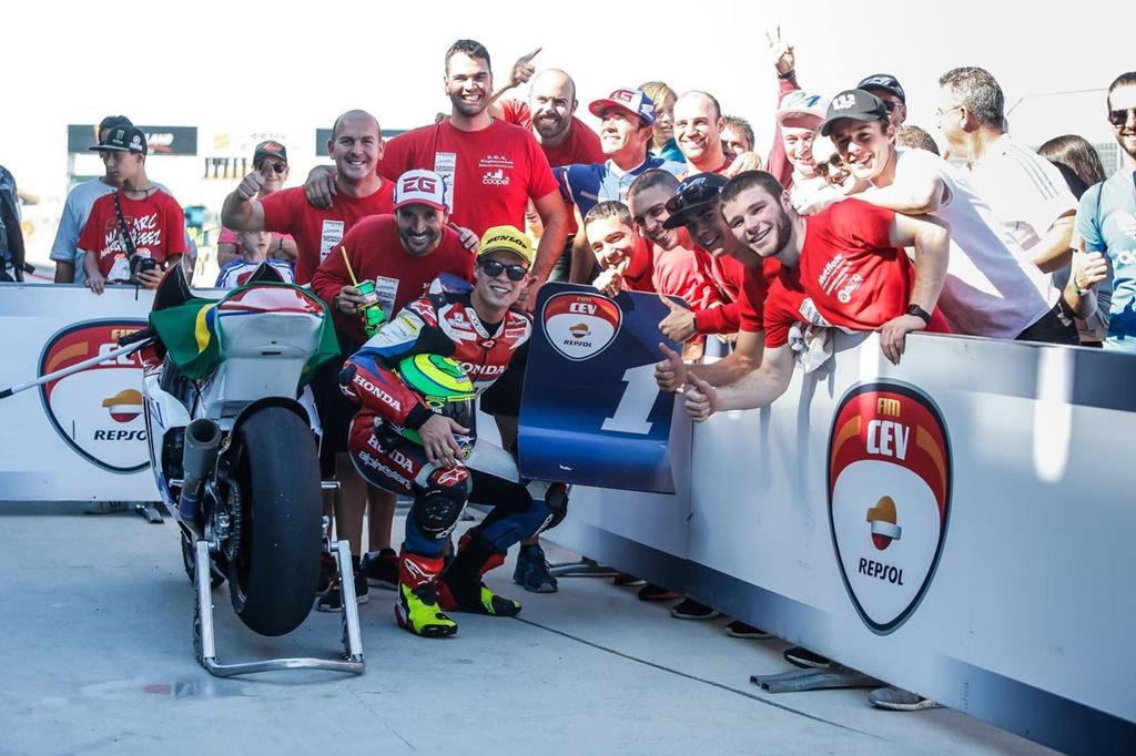 Photo of Europeu de Moto2 – Em prova emocionante, Eric Granado vence e se mantém na liderança do Campeonato.