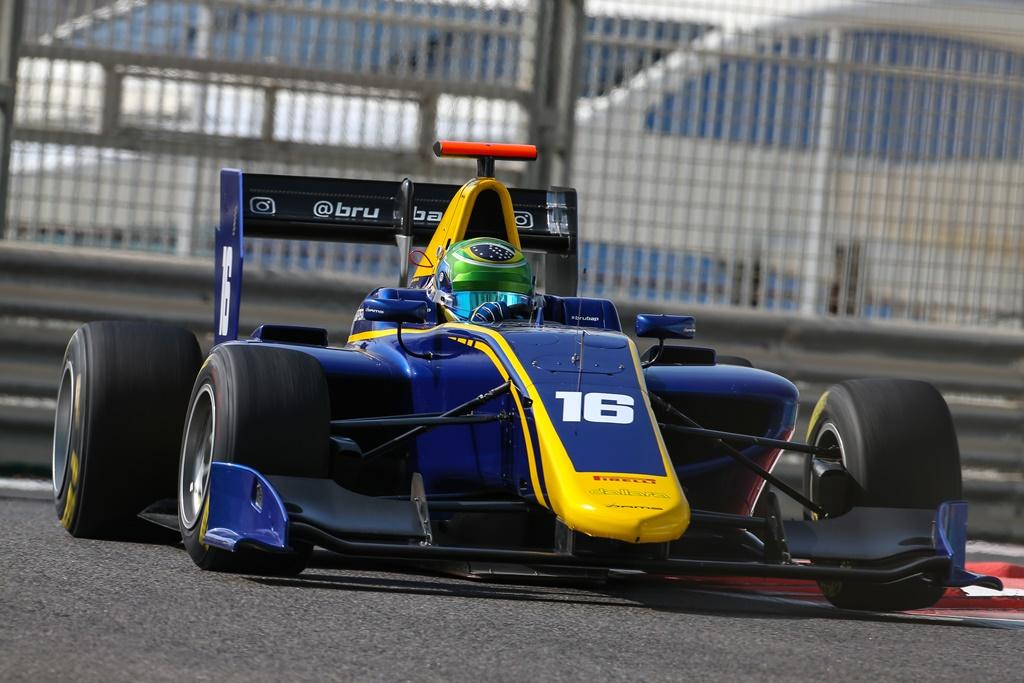 Photo of GP3 Series – Bruno Baptista encerra ano com a conquista de dois Top-10 em Abu Dhabi