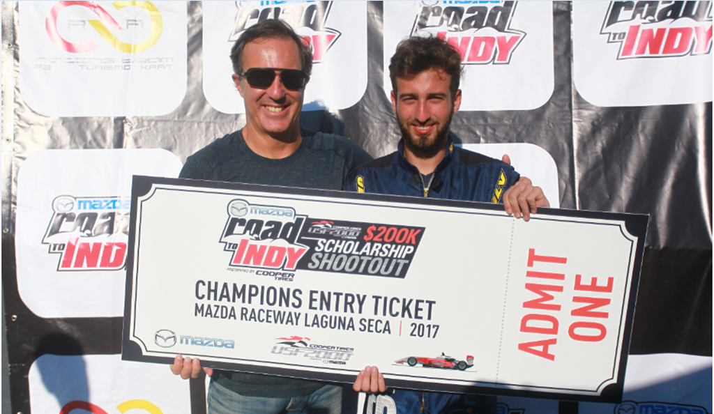 Photo of Mazda Road to Indy: Olin Galli a caminho do shootout nos EUA