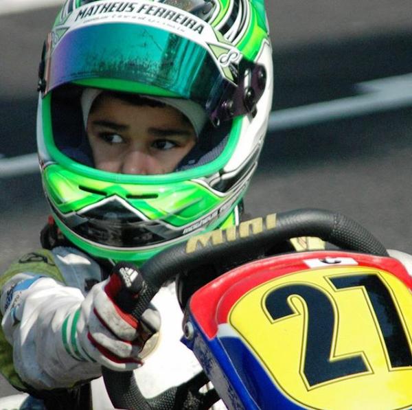Photo of Kart – Matheus Ferreira estreia com pódio na Junior Menor do Paulista Light