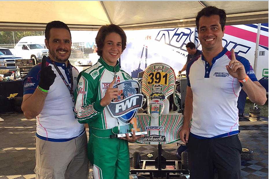Photo of Kart – NF Piquet Sports venceu na abertura do Florida Winter Tour