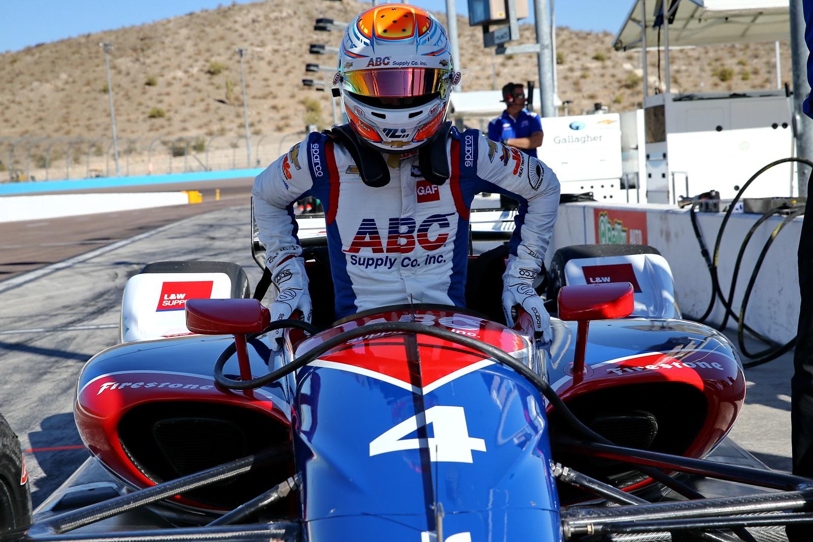 Photo of Indy – Matheus Leist é o mais rápido na primeira sessão de treinos da Indy em Phoenix