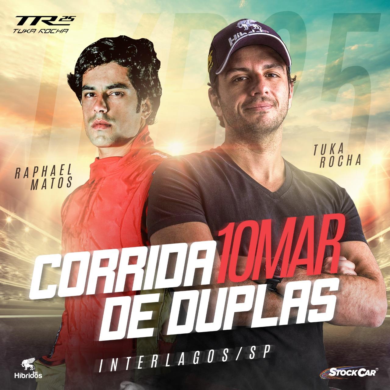 Photo of Stock Car – Corrida de Duplas Tuka Rocha e Rafa Matos formam dupla experiente de vitórias na Stock