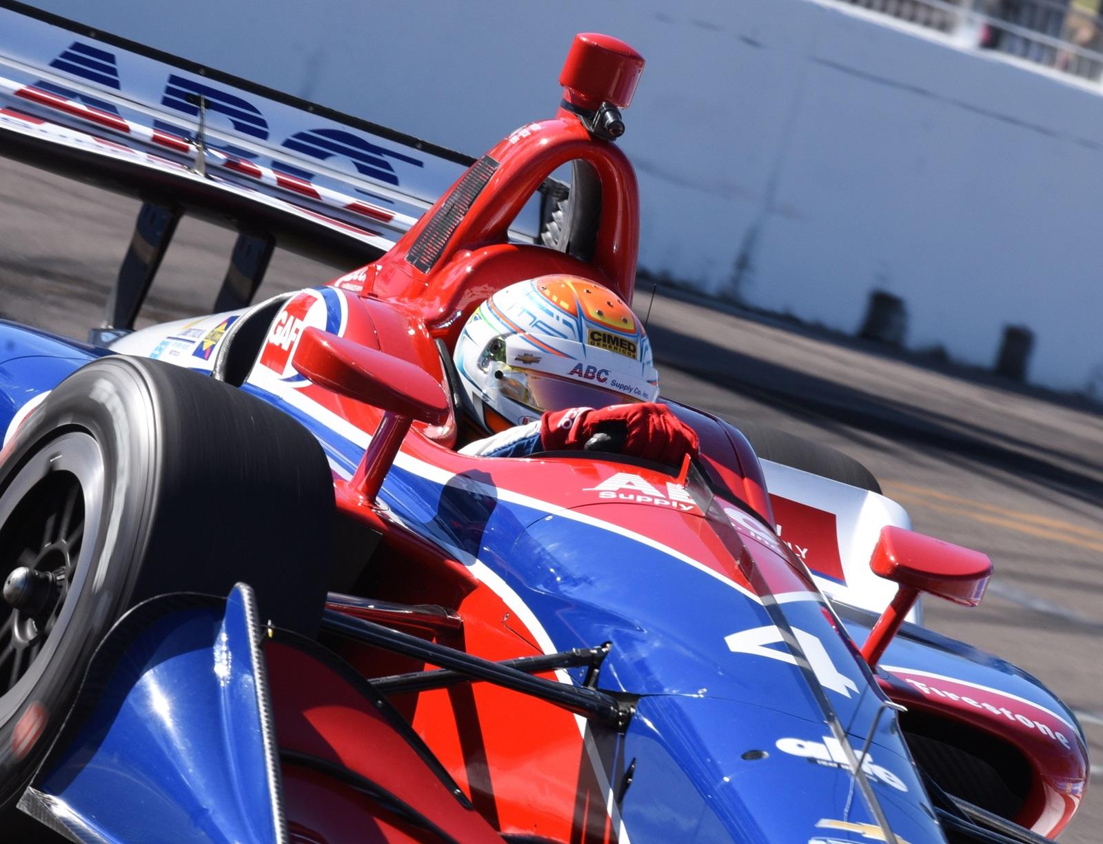 Photo of Formula Indy – Depois de estreia impressionante em treinos, Leist tem problema de câmbio quando era 4º