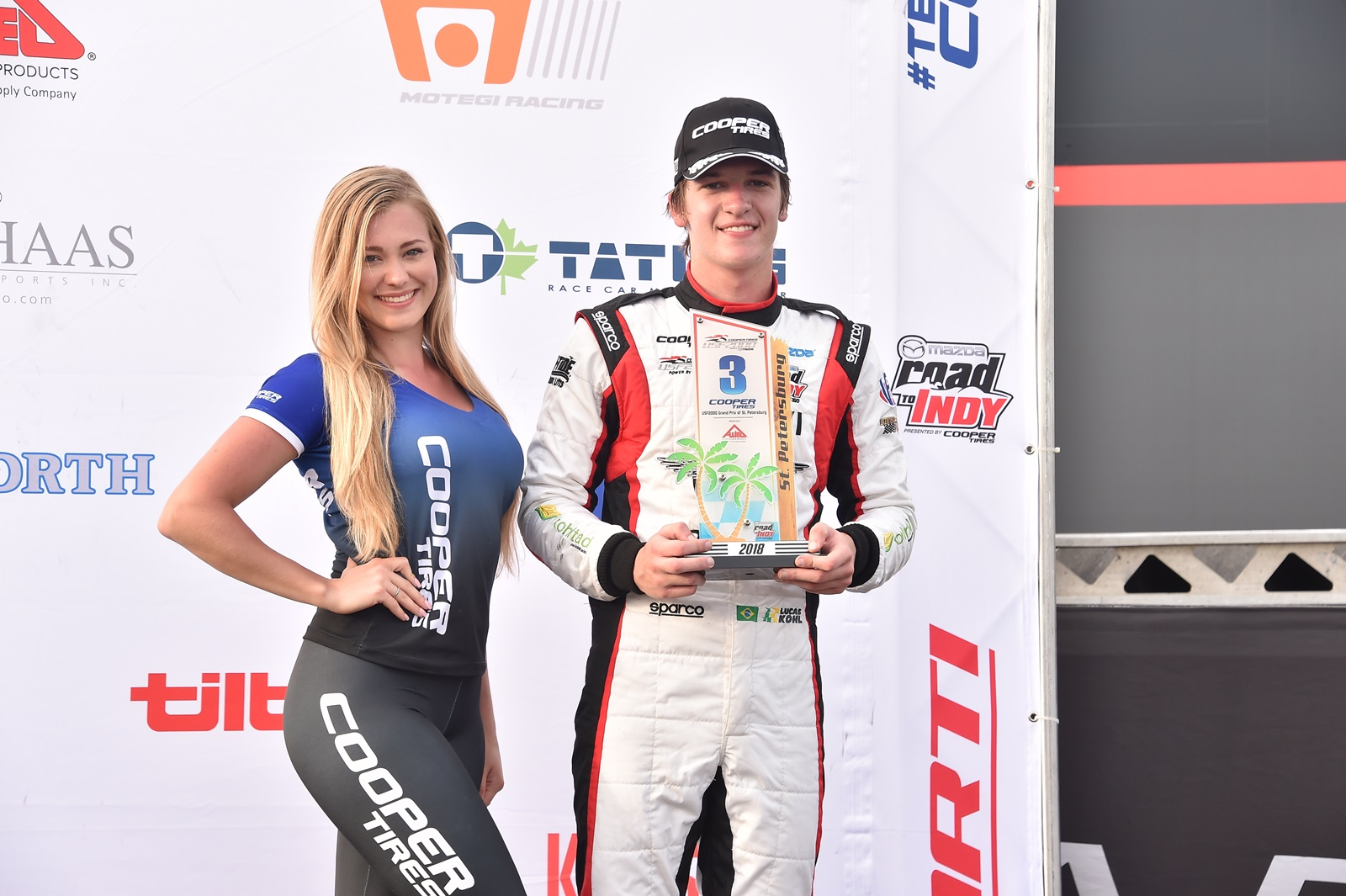 Photo of USF2000 – Lucas Kohl inicia a temporada com pódio em St. Petersburg