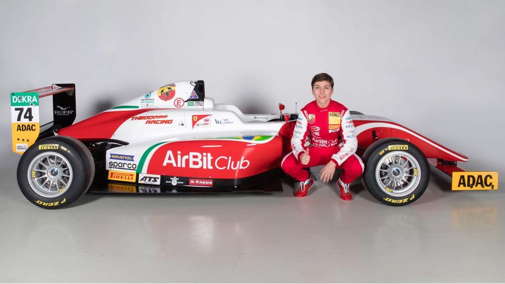 Photo of F4 Italiana – Enzo Fittipaldi é o segundo mais rápido em teste em Adria