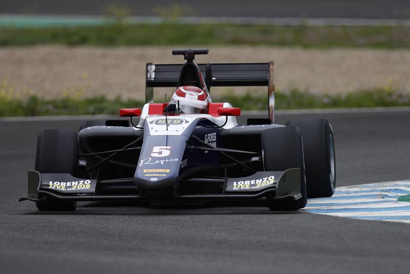 Photo of GP3 – Pedro Piquet fecha testes coletivos com o segundo tempo do dia em Jerez