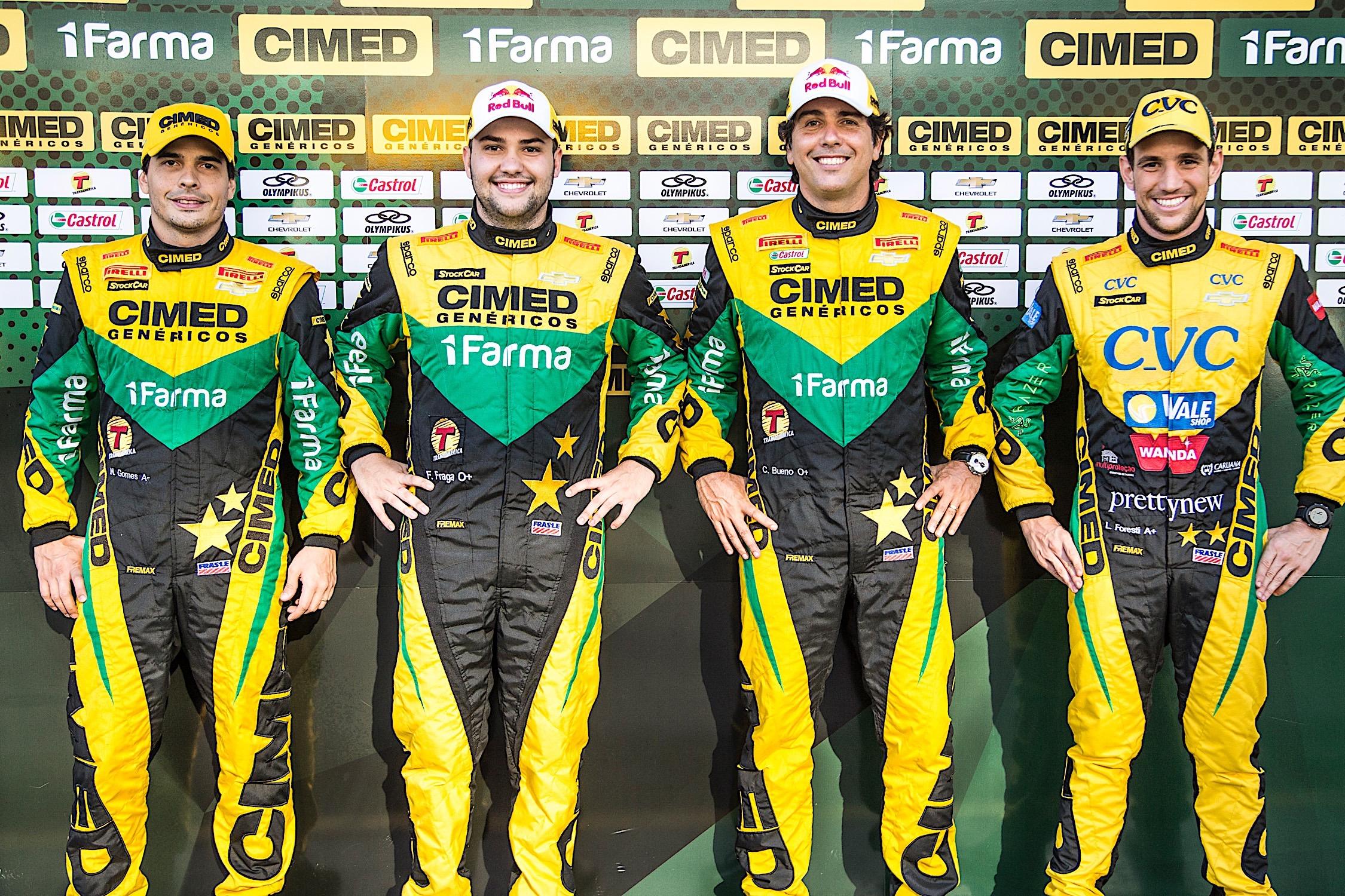 Photo of Stock Car – Cimed Racing chega ao circuito onde seus 4 pilotos já venceram em Curitiba