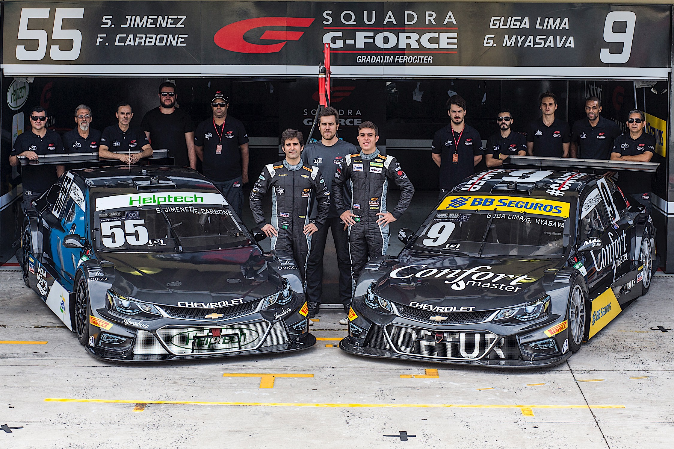 "Photo of Stock Car – Squadra G-Force prevê etapa tranquila depois do ""turbilhão"" da estreia"