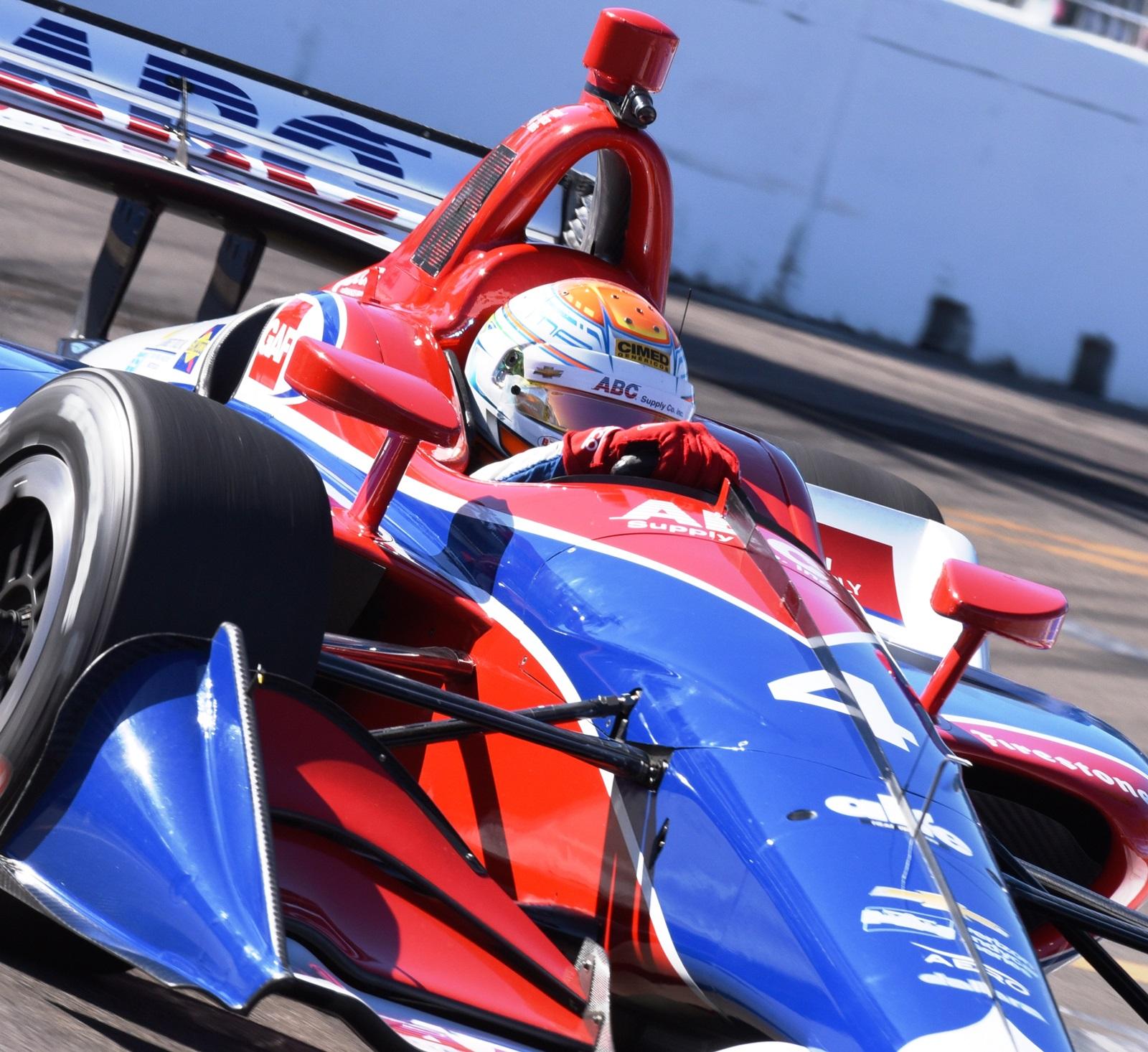 Photo of Indy – Matheus Leist disputa em Phoenix sua primeira corrida em oval e à noite na Indy