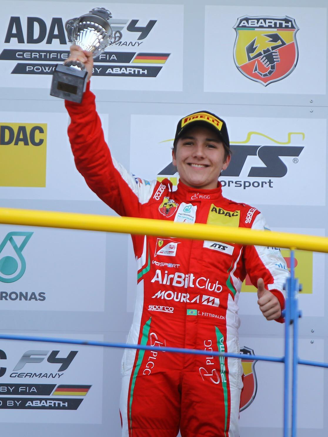 Photo of F4 – Enzo Fittipaldi conquista pódio na etapa de abertura da F4 Alemã e é o vice-líder do campeonato
