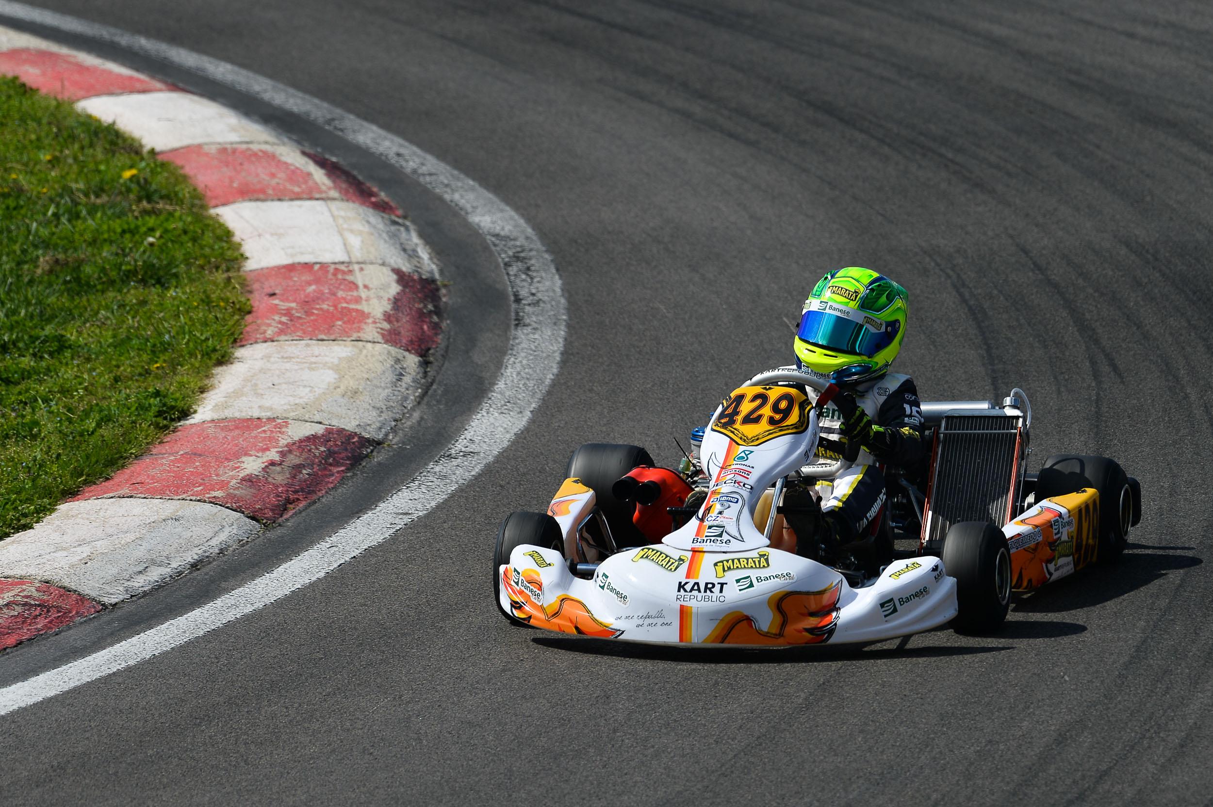 Photo of Kart – Em ascensão, Gui Figueiredo estreia no Campeonato Europeu de Kart neste final de semana, na Itália