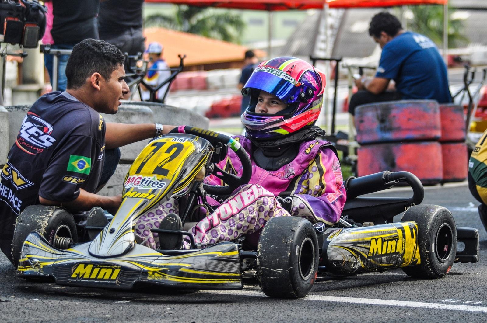 Photo of Kart – Antonella Bassani intensifica preparação para a 4ª etapa da Copa São Paulo de Kart