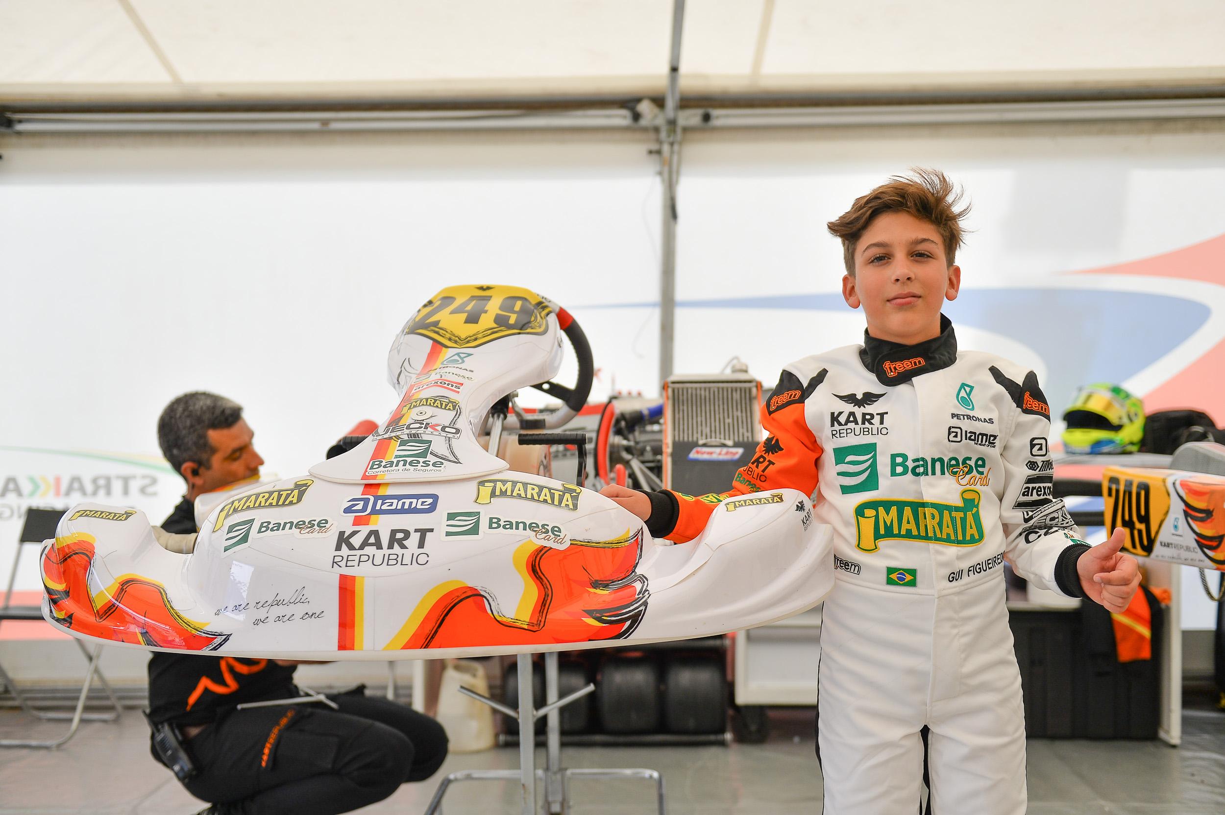 Photo of Kart – Gui Figueiredo tem etapa difícil no Europeu de Kart, mas ressalta trabalho de evolução com a equipe