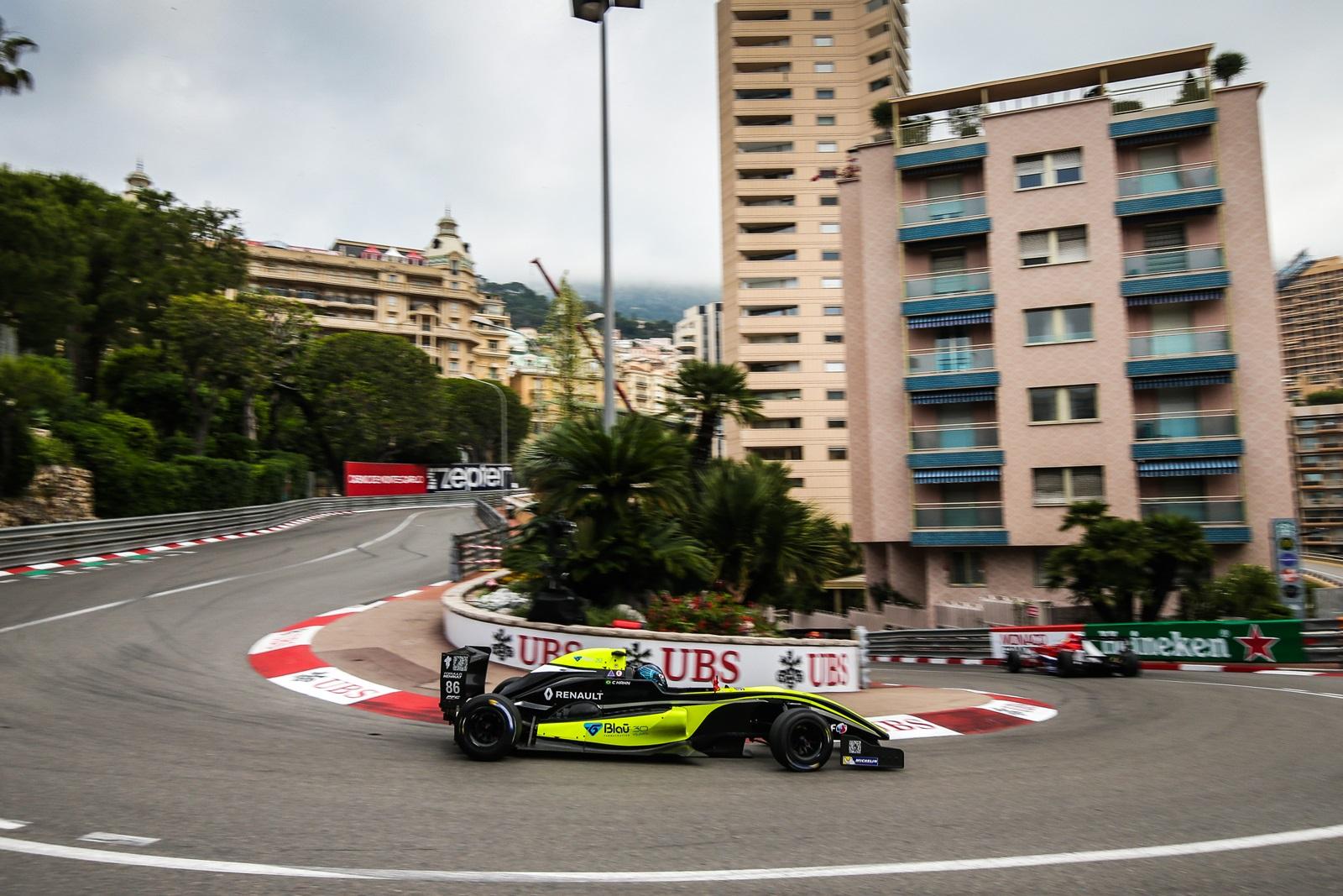 Photo of Fórmula Renault – Hahn exalta experiência e ultrapassagens em estreia nas ruas de Mônaco