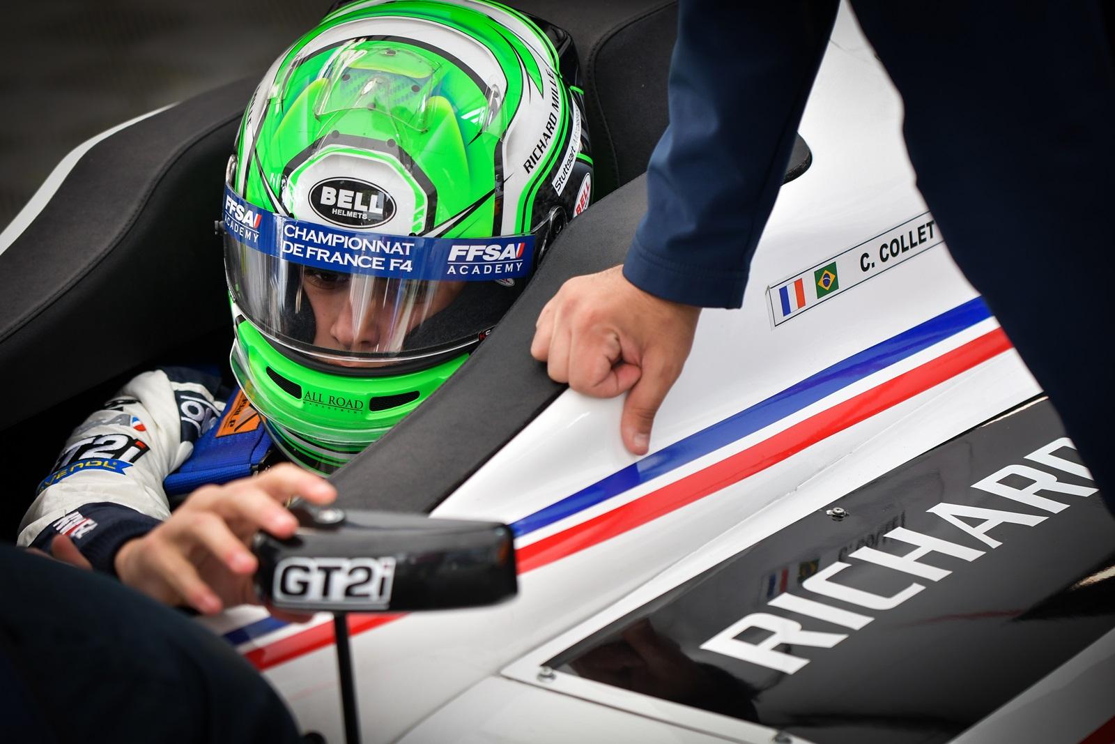Photo of F4 – Líder do campeonato da F4 Francesa, Caio Collet corre pela primeira vez em Spa