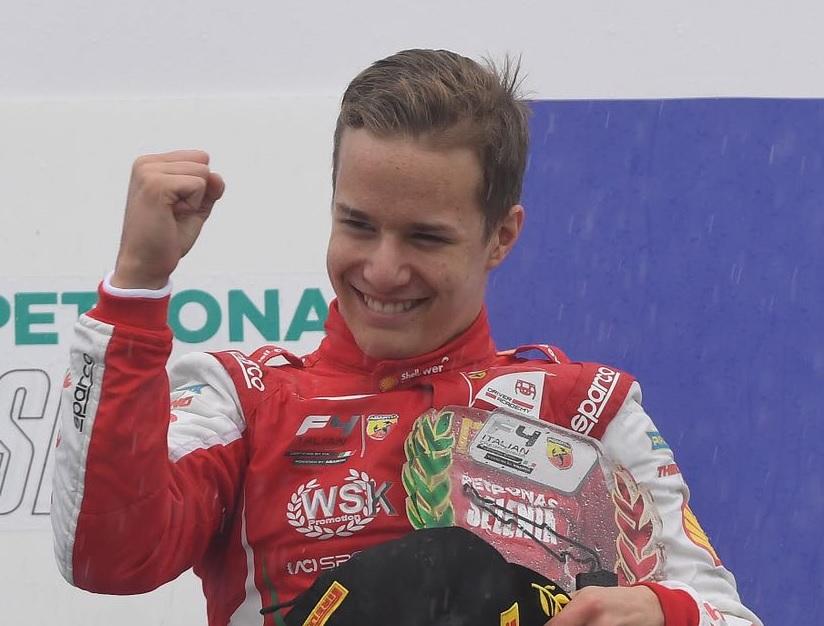 Photo of F4 – Gianluca Petecof anda bem na chuva em Paul Ricard e é o melhor estreante na Fórmula 4 Italiana