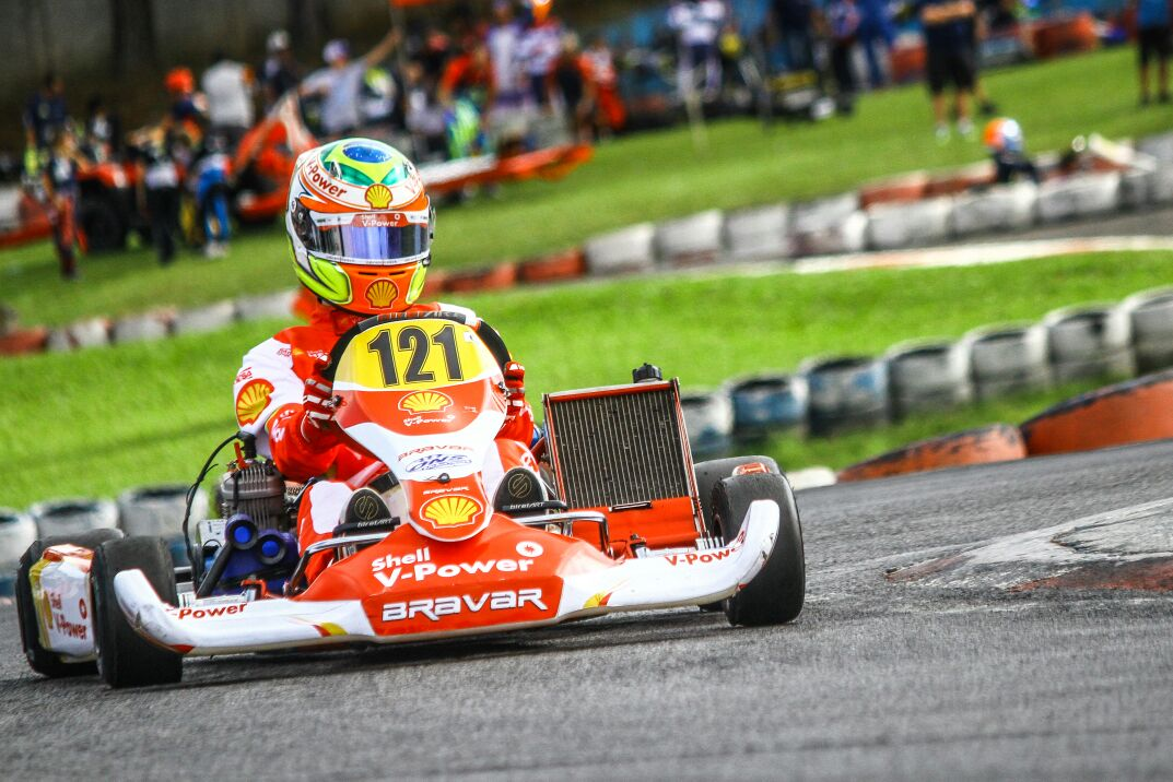 Photo of Kart – Academia Shell Racing brilha Copa SP Light de kart com duas vitórias de Felipe Baptista e uma de Gabriel Crepaldi