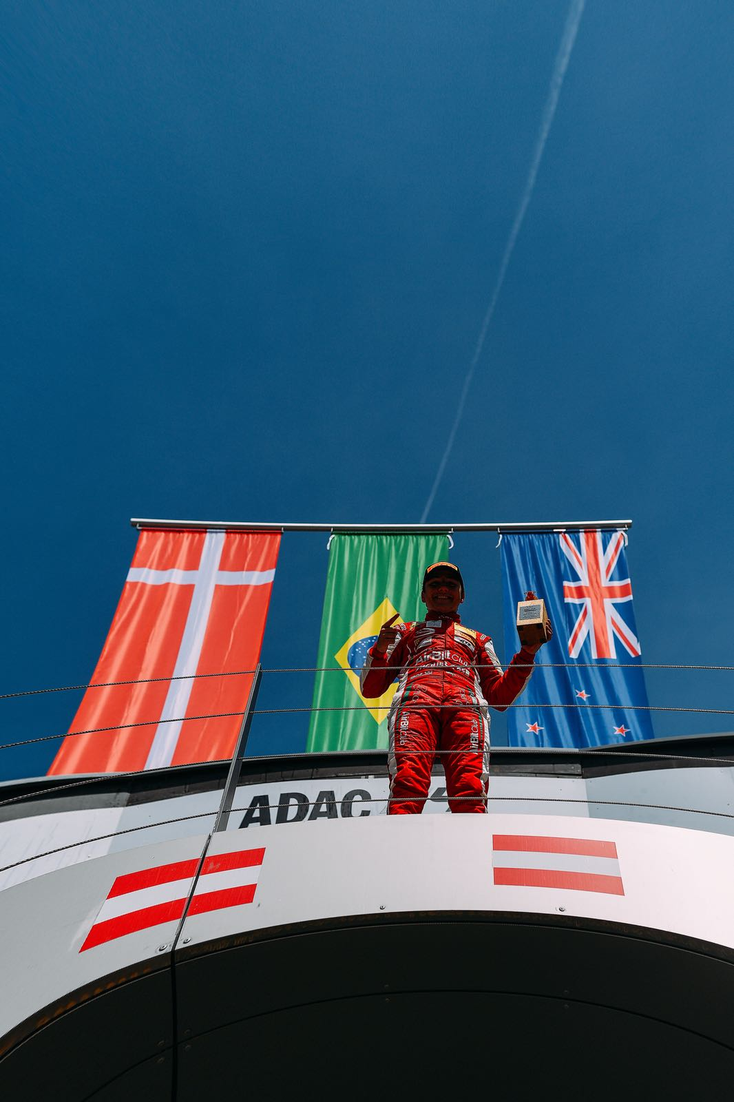 Photo of F4 – Piloto da Academia Ferrari TNT, Enzo Fittipaldi vence no Red Bull Ring na F-4 Alemã