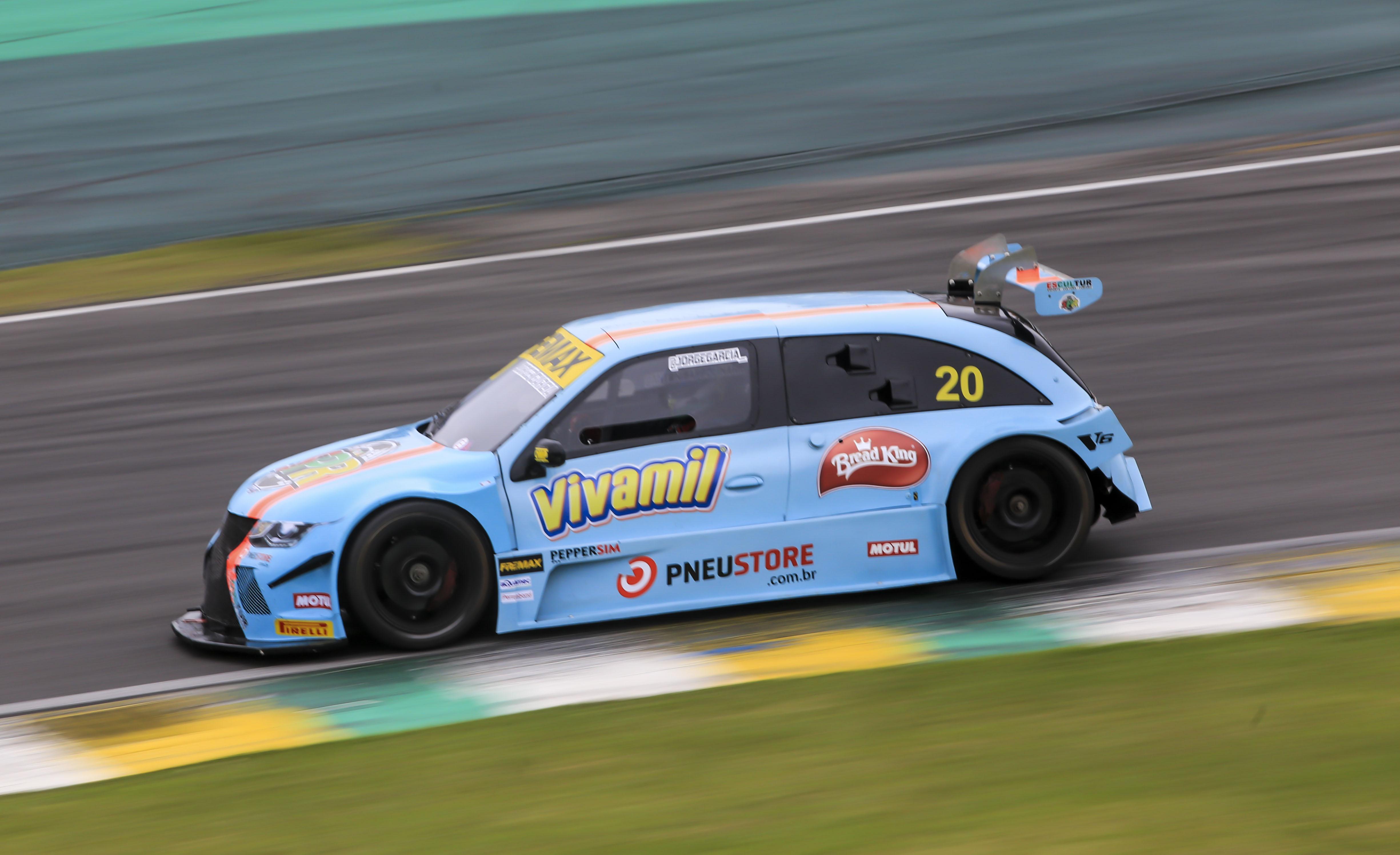 Photo of Sprint Race – Jorge Garcia fecha na frente o segundo treino em Interlagos