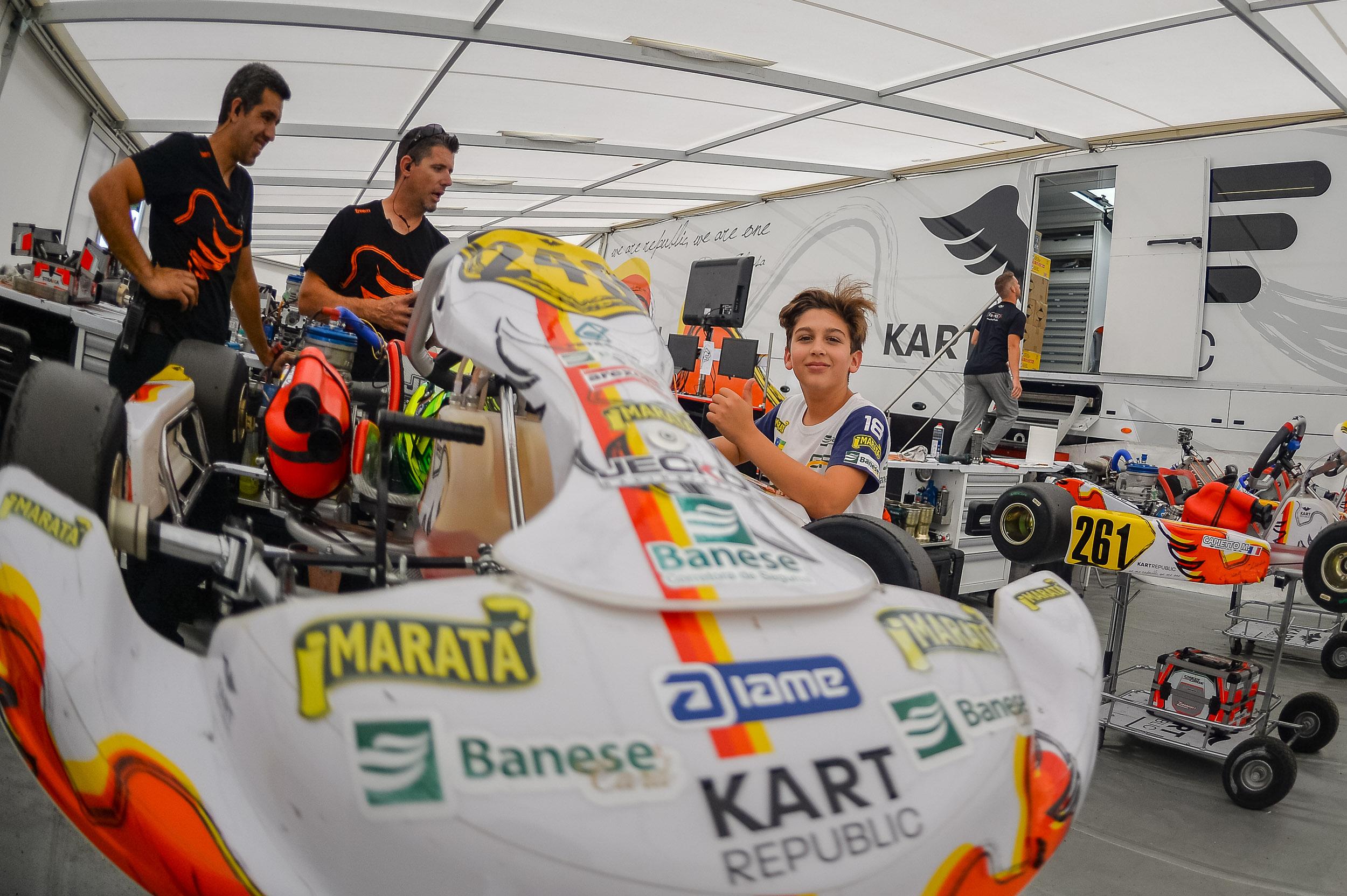 Photo of Kart – Pelo Europeu de Kart, Guilherme Figueiredo tem etapa de altos e baixos na Alemanha