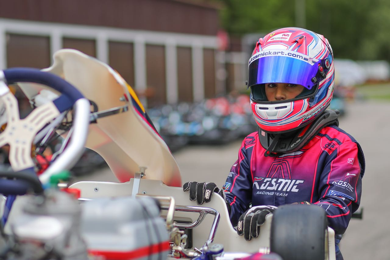 Photo of Kart – Depois do desafio no Europeu de Kart, Rafael Câmara volta à Itália para disputar o WSK Open Cup