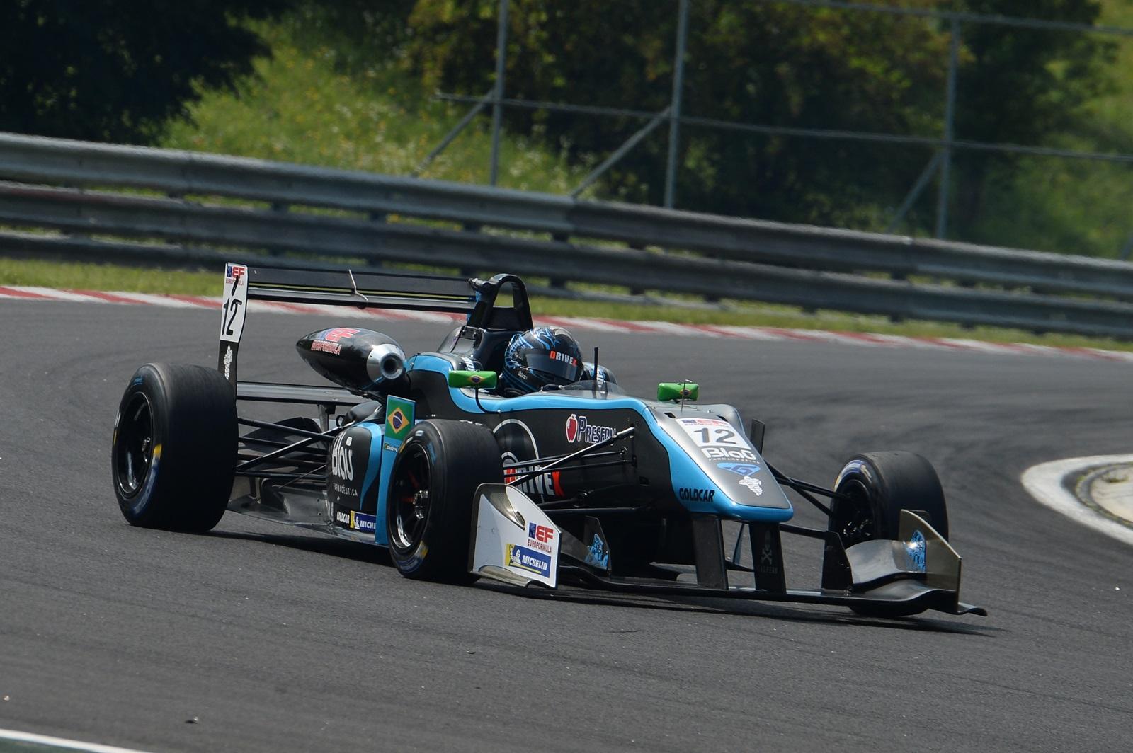 Photo of F3 – Pela Euroformula Christian Hahn conquista um Top10 na Hungria e volta andar entre os mais rápidos