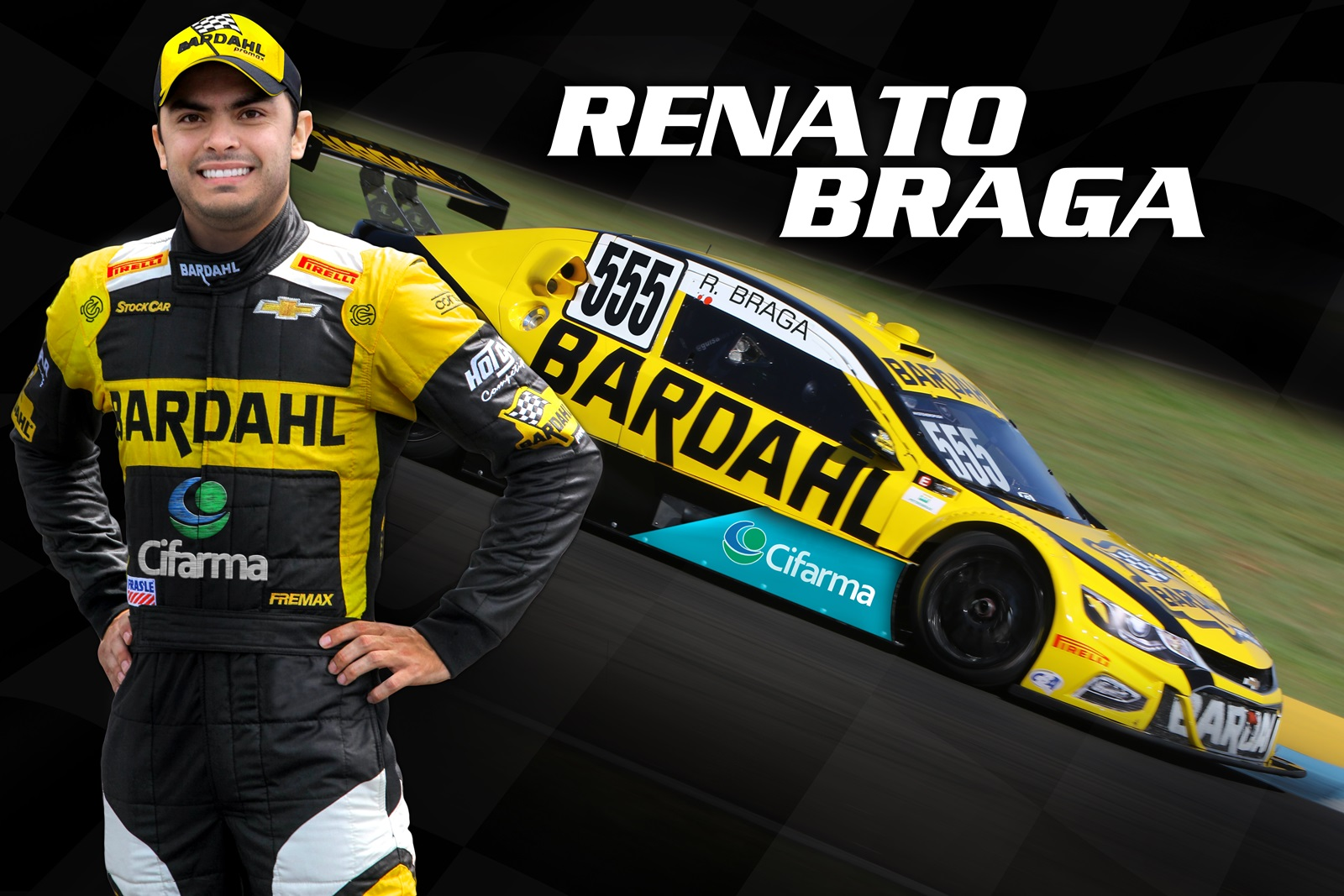 Photo of Stock Car – Bardahl Hot Car terá terceiro carro na Stock Car com piloto goiano Renato Braga
