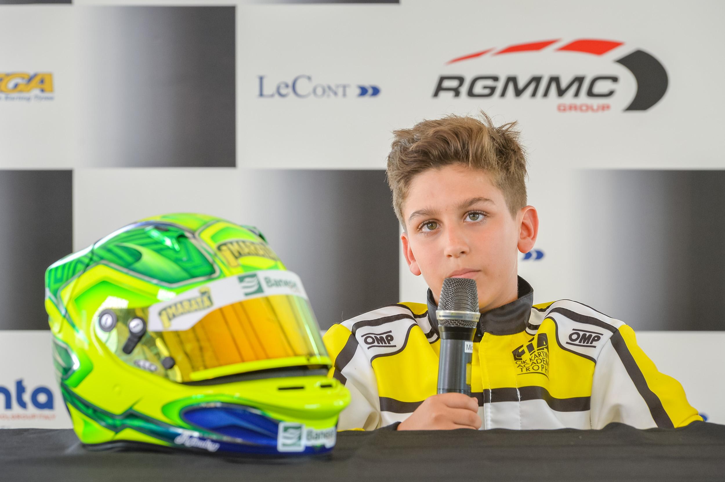 Photo of Kart – Gui Figueiredo conquista primeira vitória e pódio no Troféu Academy da FIA, na Europa