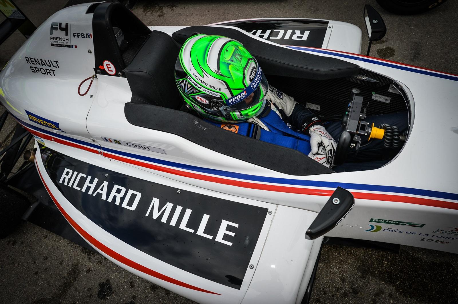 Photo of F4 – Pela F4 Francesa o piloto Caio Collet vence mais uma e amplia vantagem na liderança