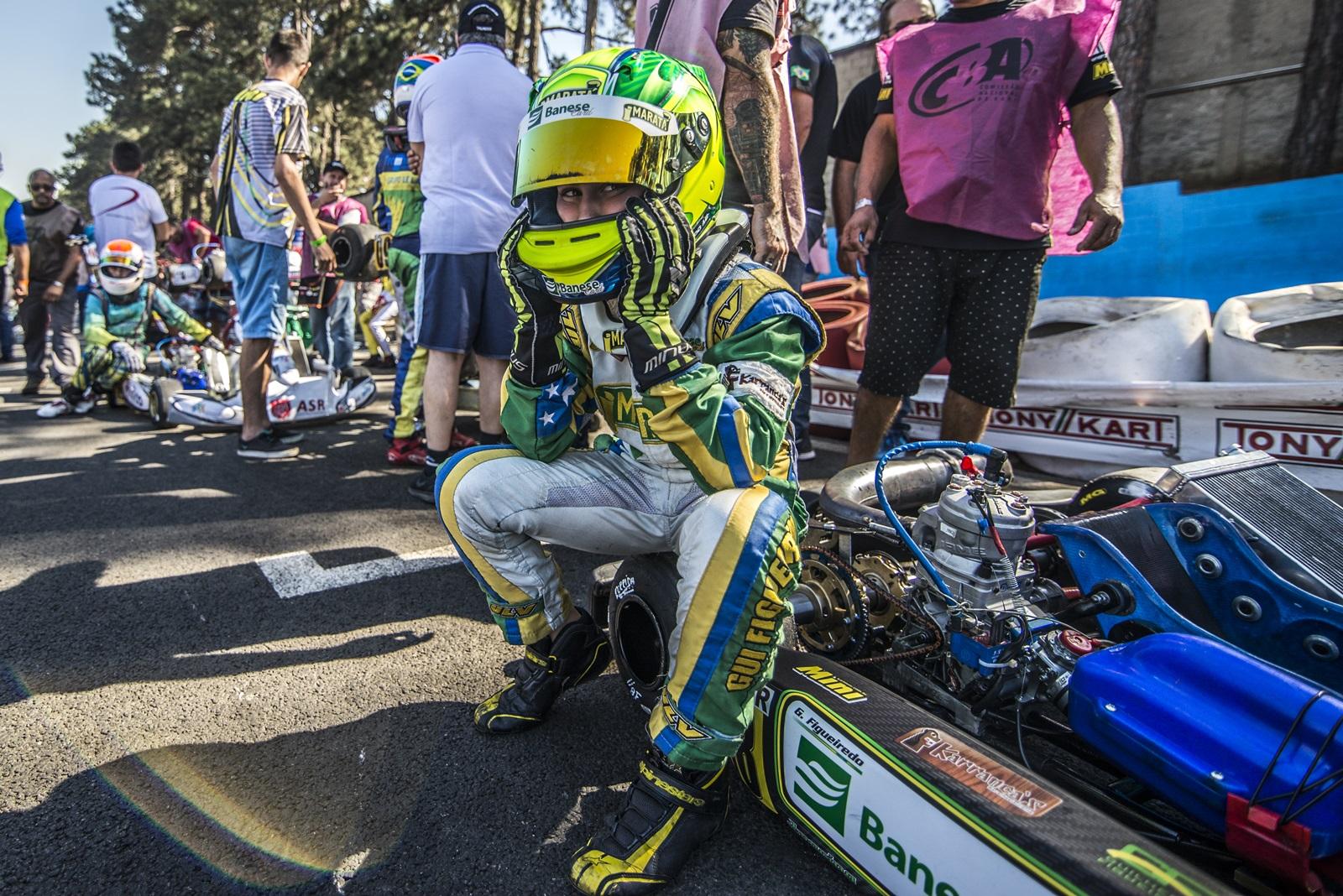 Photo of Kart – Após pódio na Europa, Gui Figueiredo destaca boa participação no Campeonato Brasileiro de Kart