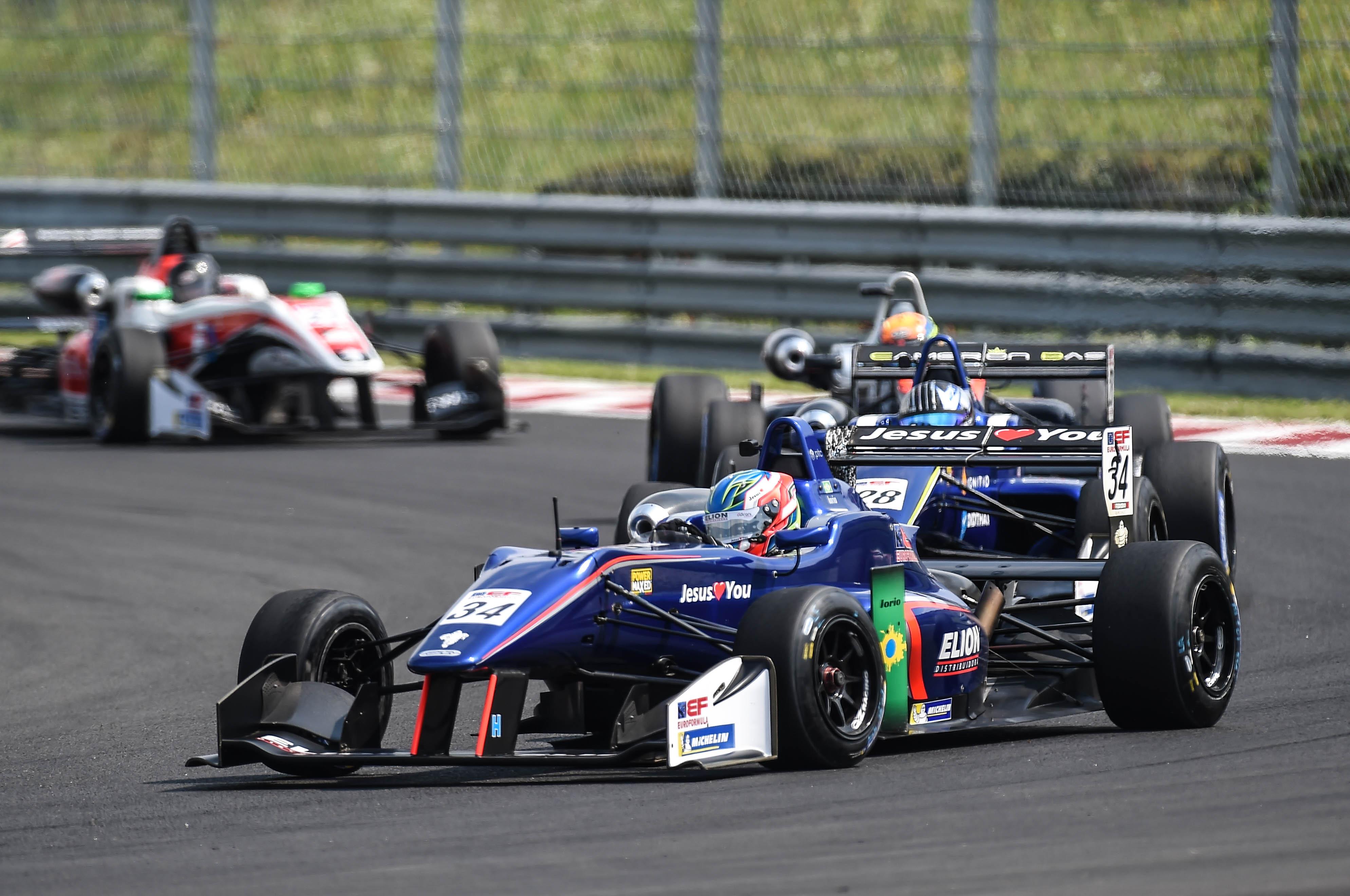 Photo of F3 – Matheus Iorio volta a somar pontos na segunda corrida da Euroformula F3 Open em Hungaroring