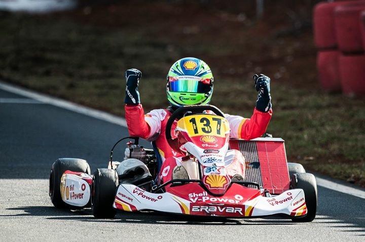 Photo of Kart – Gabriel Crepaldi venceu prova no Light e visitou os boxes da Ferrari no GP Brasil de Fórmula 1