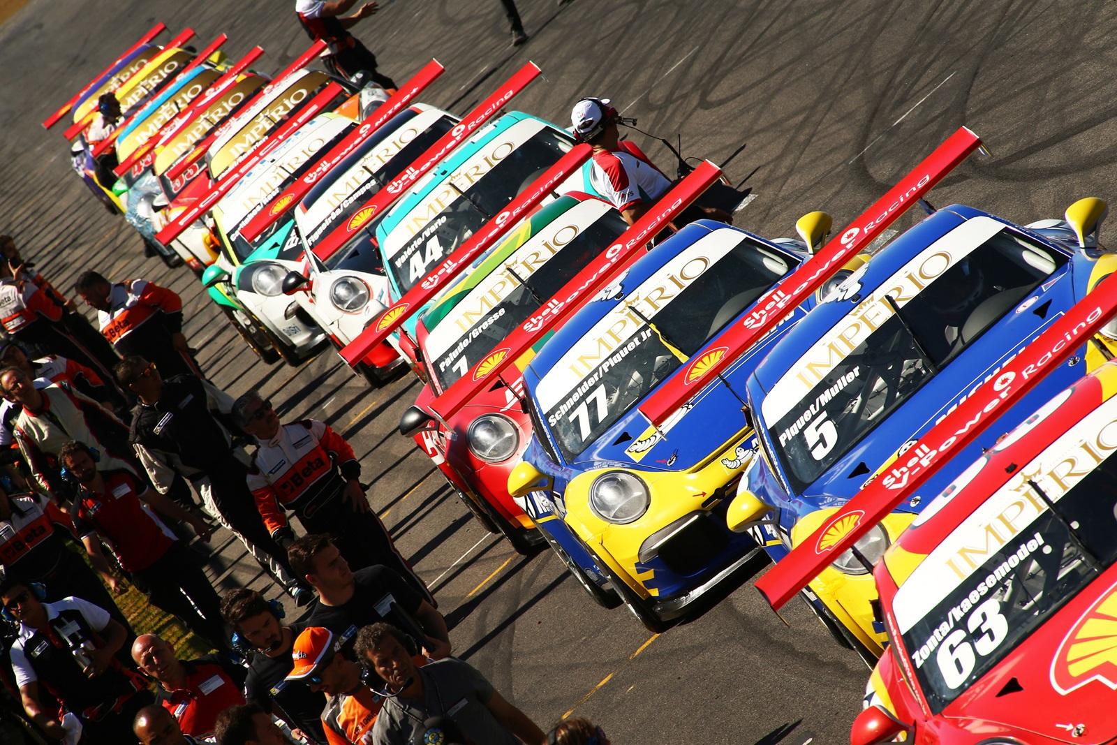 Photo of Porsche –  Porsche Cup Império coroa campeões de sprint na preliminar do GP Brasil de F1