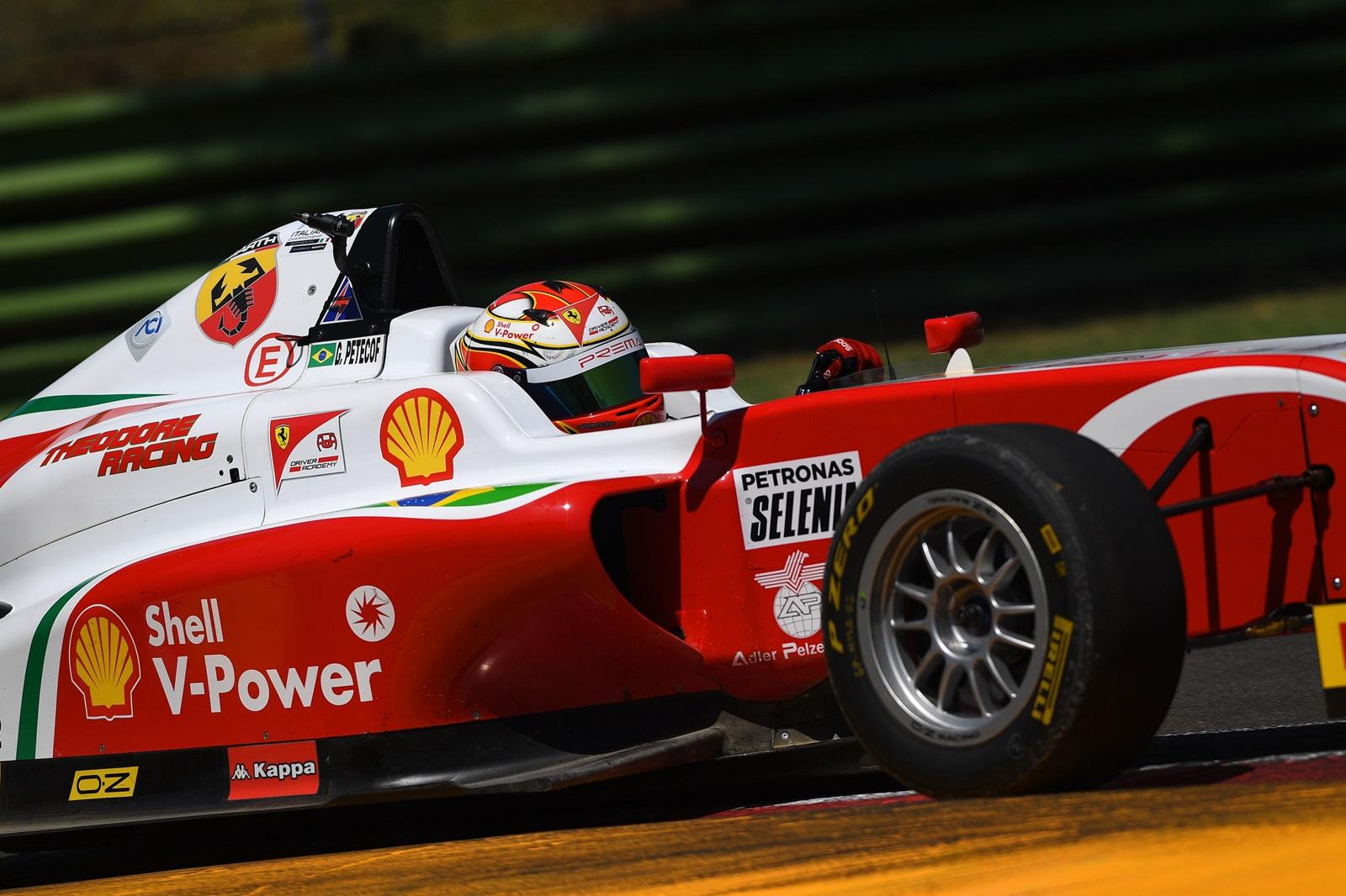 Photo of F4 – Gianluca Petecof completa a rodada tripla de Imola com pontos somados em todas as corridas