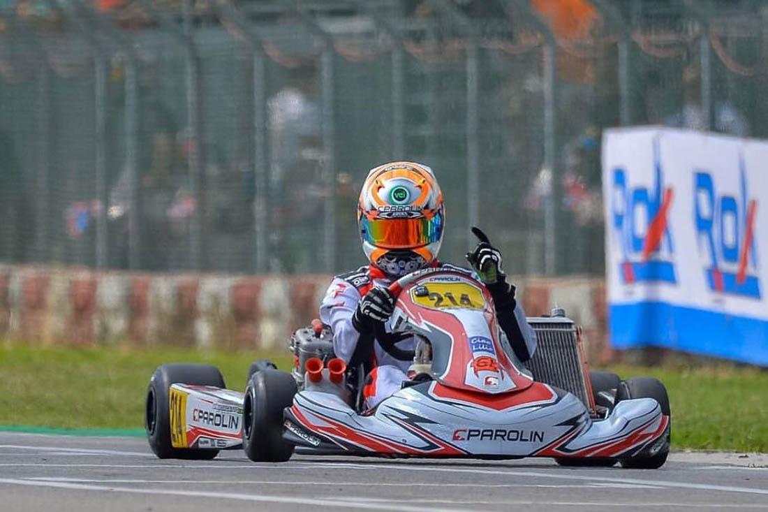 Photo of Kart – Matheus Morgatto leva novamente Hino Nacional ao pódio da Itália